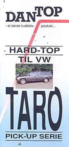 1992 Volkswagen Taro Pickup Hardtop Brochure Denmark (Pickup Hardtops)