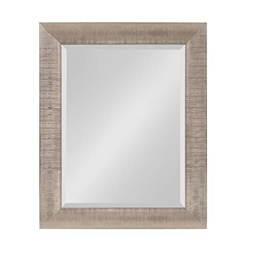 Kate and Laurel Reyna Framed Wall Mirror 23.75x29.75 Silver
