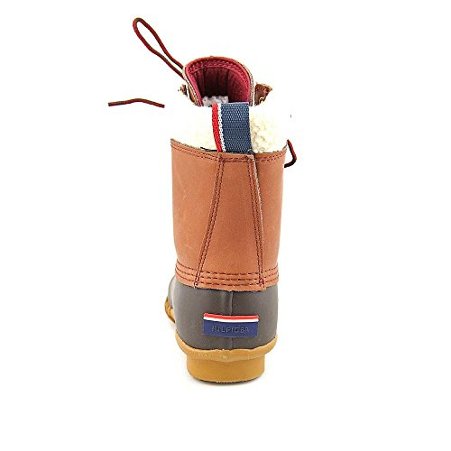 Tommy Boot Chestnut Russel Brown Women's Hilfiger Rain Espresso OrqOp1awI