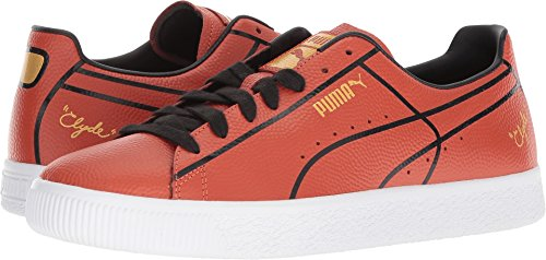 - PUMA Men's Clyde Bball Madness Burnt Ochre 10 D US