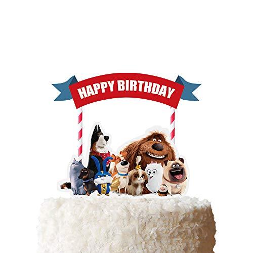 Cake Topper for Secret life of Pets Cake Topper...
