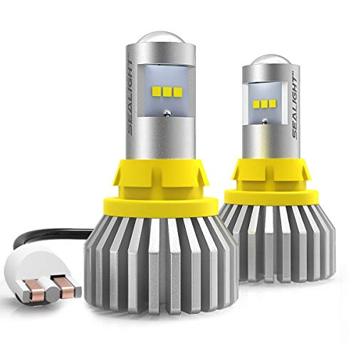 912 921 T15 LED Bulbs 3000 Lumens Canbus Error Free 902 904 906 W16W Extremely Bright SEALIGHT Superior LED Chips Plug & Play 6000k for Backup Reverse Lights (Pack of 2) - 2 Yr Warranty