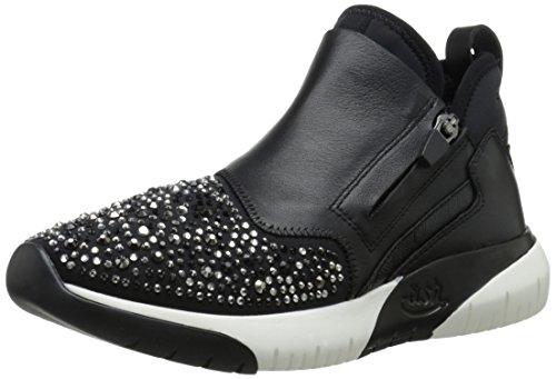 Ash Women's Starlight Fashion Sneaker, Black/Smoke Stones, 41 EU/11 M US