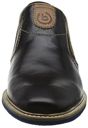 Uomini Bugatti 311461614000 Pantofola Nero (nero)