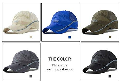 New High Quality UV Quick-drying Waterproof Light Shade Baseball Cap Outdoor Hats