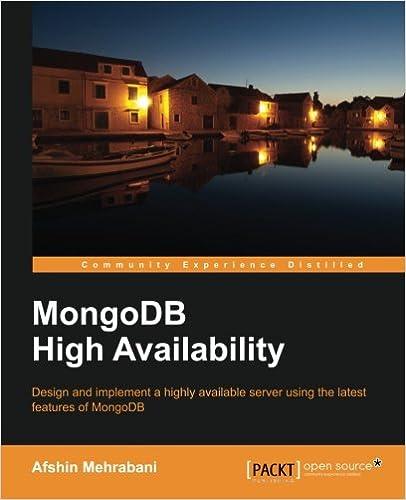 Book MongoDB High Availability