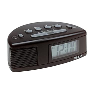 Westclox Tech 47547 Super Loud Alarm Clock ,90dB