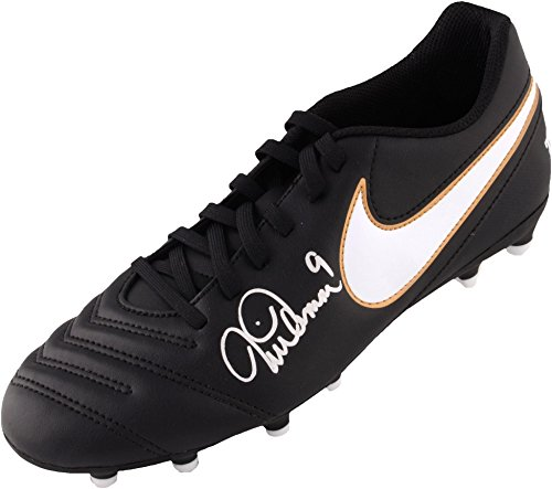 Mia Hamm Team USA Autographed Nike Black Soccer Cleat - Fanatics Authentic Certified - Autographed Soccer Cleats (Nike Mia Hamm)