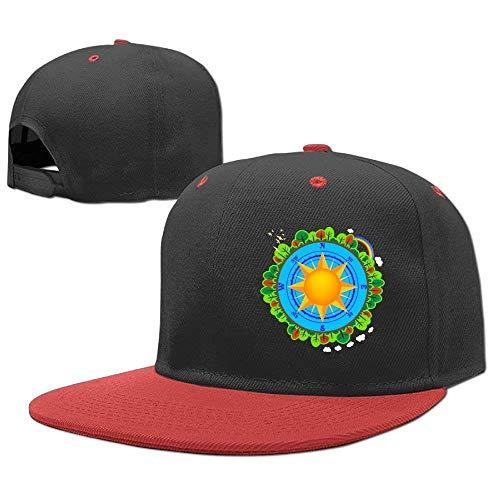 Girl Hats Boy Cap béisbol Baseball Hop Compass RGFJJE Forest Gorras Hip w64p7
