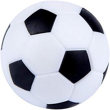 YiGo 1pc Tabla del fútbol balones Reemplazos plástico Mini Blanco ...
