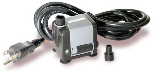 Fountain Pump Works Indoors Or Outdoors And Pumps Water Up To 25'' High