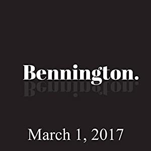 Bennington, Chris Millhouse and Alexis Guerrero, March 1, 2017 Radio/TV Program