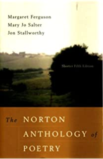The norton anthology of poetry, shorter fifth edition by margaret.