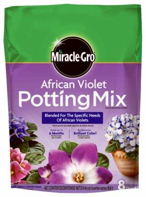 Soil Potting Scotts (Scotts Growing Media 72678430 African Violet Potting Mix, 8-Qts. - Quantity 6)