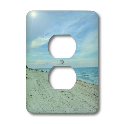 3dRose LLC lsp_25255_6 Smell The Ocean Breeze, 2 Plug Outlet Cover