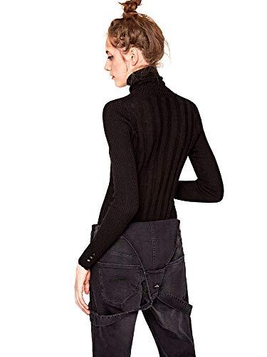 Lupe Pull Black Noir Femme 999 Jeans Pepe xwaBf4qUzO