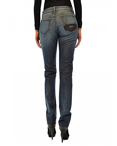 Logo Donna In Denim Ricamato Con Refrigiwear Made Italy t8q65