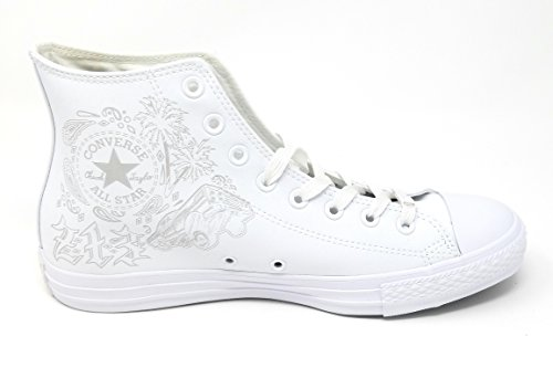 White Classic Casual Uppers Star and Canvas Chuck Unisex Top Mouse High Style Sneakers All Converse White in Color Taylor and Durable nF4fBfvx