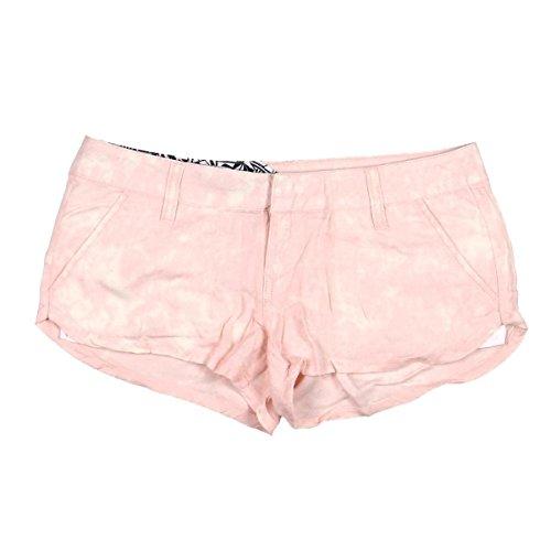 (Volcom Juniors Ur A Pistol Short, Light Pink, 5)