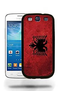Albania National Vintage Flag Phone Case Cover Designs for Samsung Galaxy S3