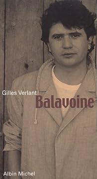 Balavoine par Gilles Verlant