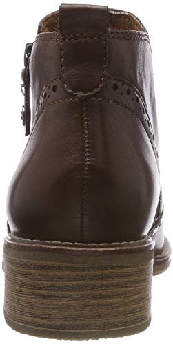 21 Boots Tamaris Muscat Brown Ankle 311 25355 Women's wzzECqxTZ