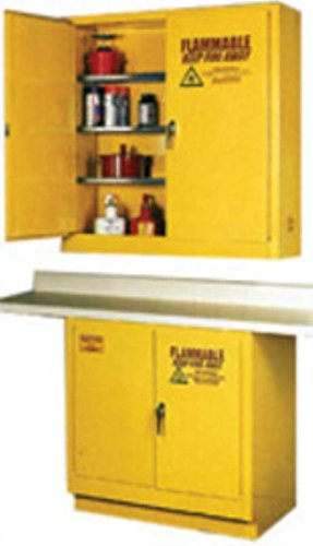 Eagle 1970 Safety Cabinet for Flammable Liquids, 2 Door Self Close, 22 gallon, 35