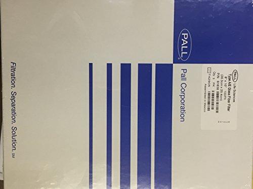 Pall 61638 Glass Fiber Membrane Filter, Type A/E, 1.0 um Pore Size, 8
