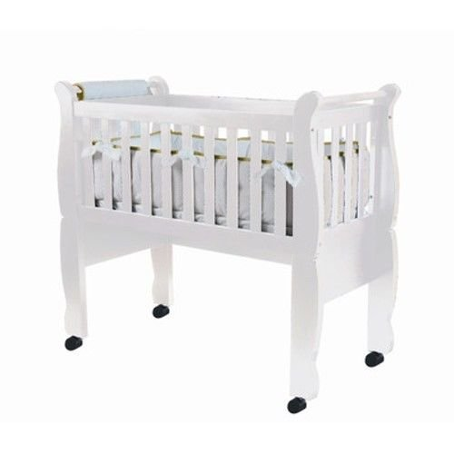 - Green Frog Now and Forever Cradle, White