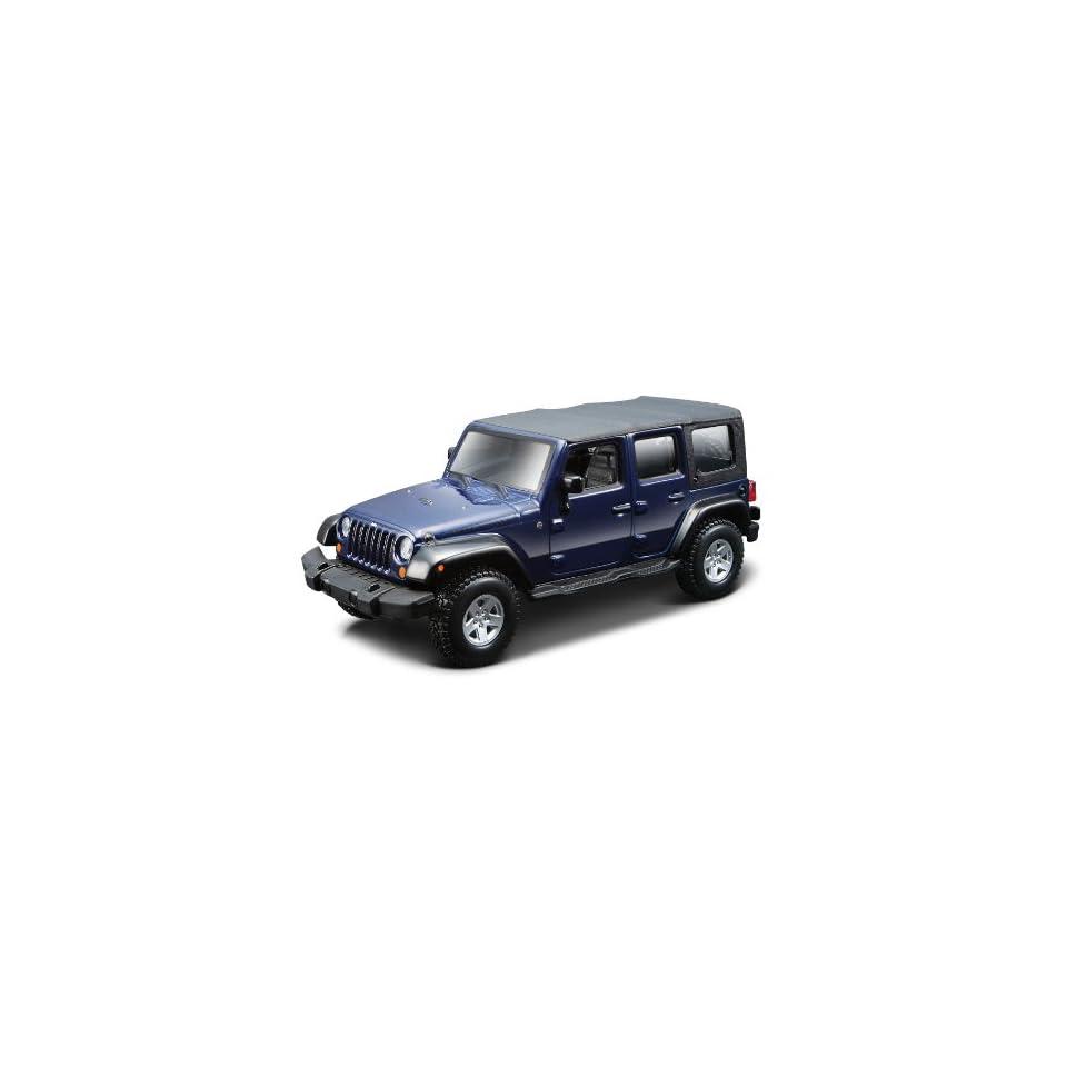 Bburago 43012   Jeep Wrangler Unlimited Rubicon, 132
