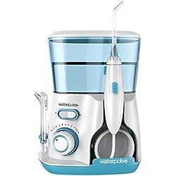 Waterpulse Pro V300 Water Flosser Dental Oral Irrigator FDA CE Certification (Green)