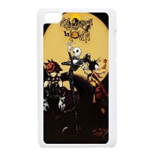iPod Touch 4 Case White Kingdom Hearts Halloween Town Jsgw