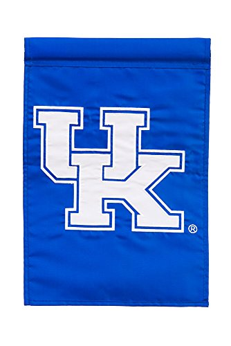Team Sports America Kentucky Wildcats Applique Garden Flag, 12.5 x 18 inches