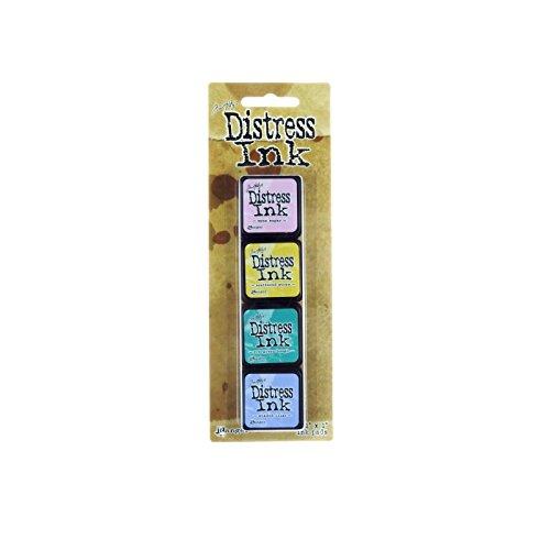 Ranger Tim Holtz Distress Mini Ink Kits-Kit #4 by Ranger