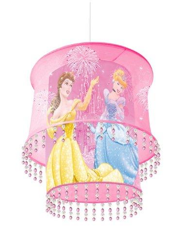 Disney Princess Castle Fabric Light Shade 2 Tier Pendant