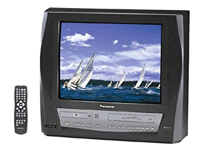 Panasonic PV-DM2093 20-Inch TV-DVD-VCR Combo , Charcoal