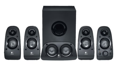 LOGITECH SURROUND SOUND SPKRS Z506 BLK   B003WJR482