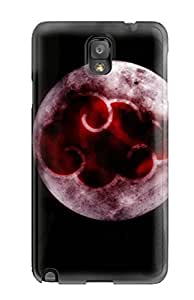 Best Flexible Tpu Back Case Cover For Galaxy Note 3 - Akatsuki