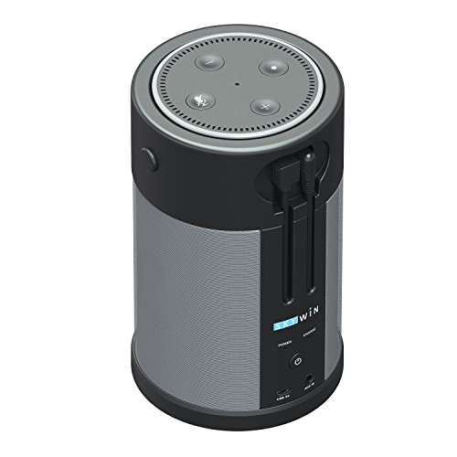 Speaker with echo dot