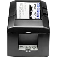 Star Micronics, TSP654IIE3-24 GRY US, Thermal Printer, Ethernet (LAN), Auto Cutter, External Power Supply Incl.