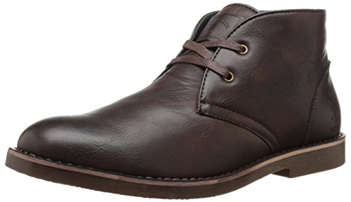 U.S. Polo Assn.. Men's Bleeker Chukka Boot, Dark Brown, 9 M US