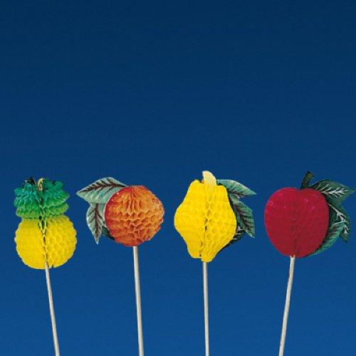 Garcia de Pou Eisdekorationen aus Holz, sortiert, 10 x 30 x 30 cm, 100 Stück, holz, mehrfarbig, 10 x 30 x 30 cm