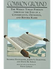 Common Ground: The Weekly Torah Portion Through the Eyes of a Conservative, Orthodox, and Reform Rabbi