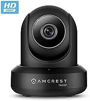 Amcrest ProHD 1080P WiFi Wireless IP Security Camera - 1080P (1920TVL), IP2M-841 (Black)
