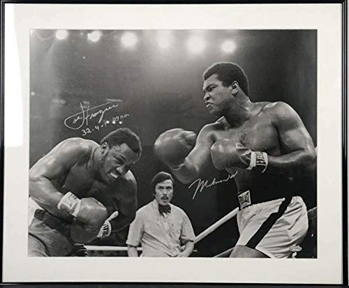 Muhammad Ali & Joe Frazier Signed Autographed 16x20 Photograph Sports - Steiner Sports Certified - Autographed Boxing -
