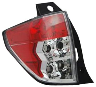 OE Replacement Subaru Forester Right Tail Lamp Lens/Housing (Subaru Tail Forester Lamp)