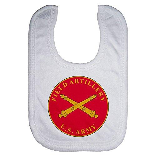 ExpressItBest Microfiber Baby Bib - US Army Field Artillery, branch plaque ()