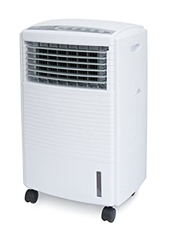 SPT SF-612R Evaporative Air Cooler with 3D Cooling Pad, White (Evaporative Cooler Portable)