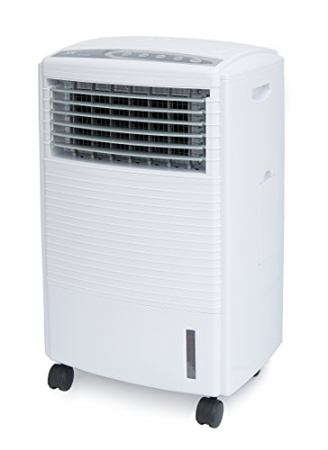 SPT SF-612R Evaporative Air Cooler with 3D Cooling Pad, White (Humidifier Parts Spring Desert)