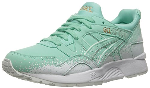 ASICS Women's Gel-Lyte V Fashion Sneaker, Light Mint/Light Mint, 9 M US